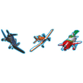 Carton décor Avions – 3pièces, , large