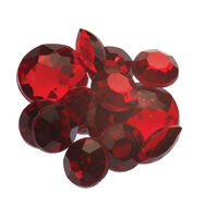 Ruby Self Adhesive Mixed Jewels, , large