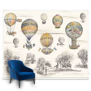 Couture Balloon Race Mural, , large