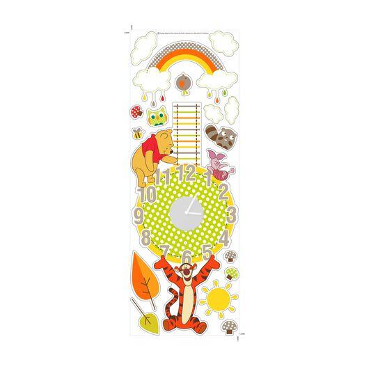 Winnie the Pooh Sticker Clock, , large