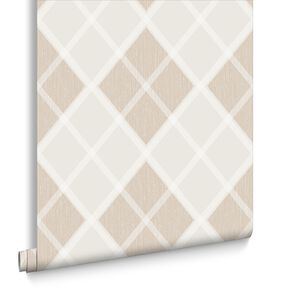 Argyle Sand Wallpaper, , large