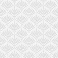 Bonnie Geo White & Silver Wallpaper, , large