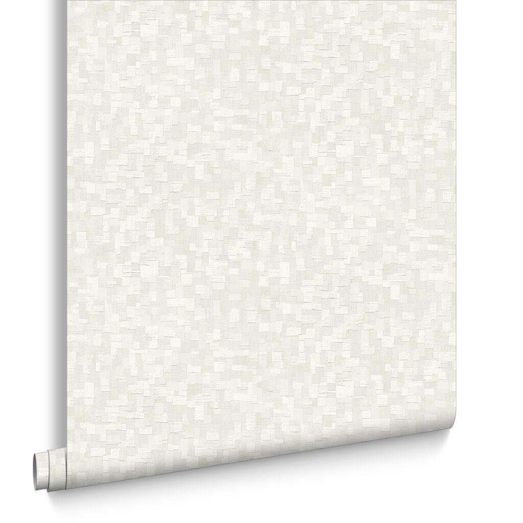 Jive white wallpaper graham brown for White adhesive wallpaper
