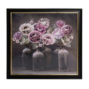 Bloom Floral Framed Art, , large