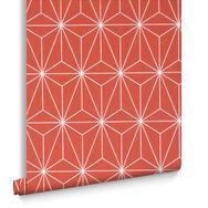 Prism Coral Wallpaper, , large