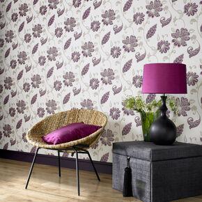 Juliet Plum Wallpaper, , large