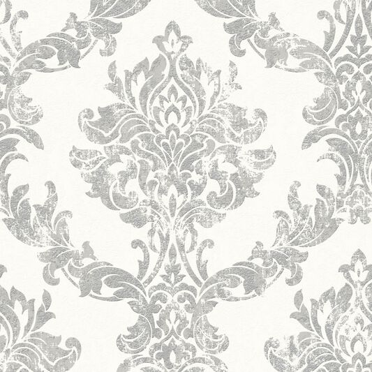 opal damask white and silver wallpaper graham amp brown