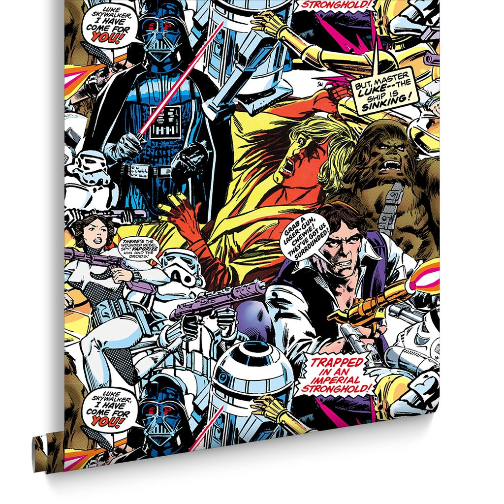 Star Wars Cartoon Wallpaper
