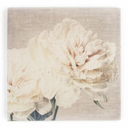 Cream Petals Fabric Canvas, , large