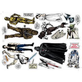 Star Wars Wall Stickers, , large