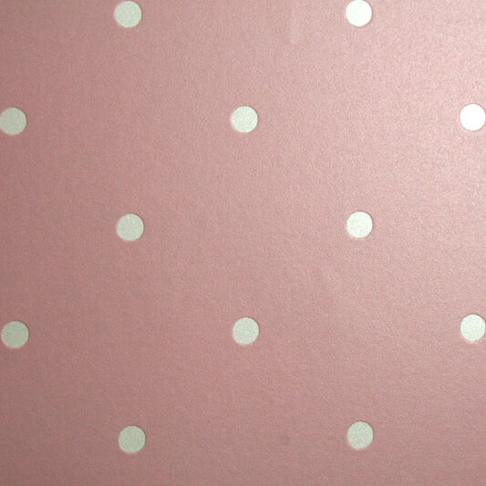 Dotty Pastel Pink Wallpaper, , large