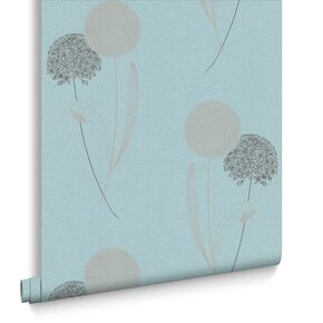 Alium Blue Wallpaper, , large
