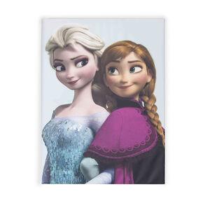 Eiskönigin - Bedruckte Leinwand Elsa und Anna, , large