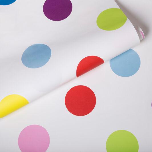 Dotty Multi Bright Wallpaper, , large