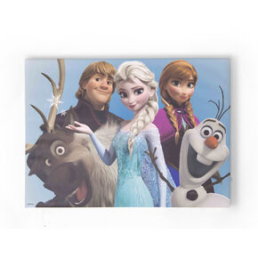 Frozen - Group Hug Printed Canvas, , large