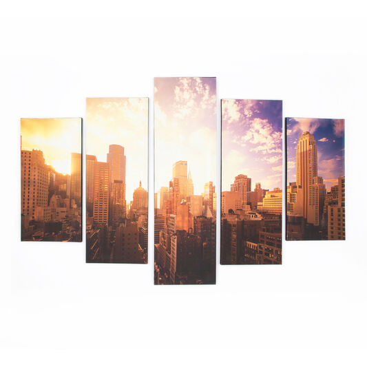Good Morning New York Printed Canvas, , large