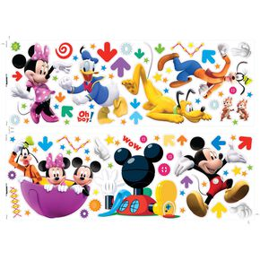 Mickey Muursticker, , large