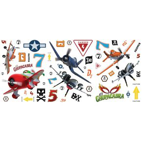 Stickers budget Avions, , large
