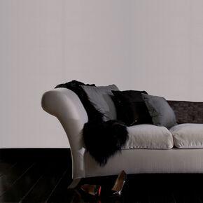 Linen Texture Silver Shimmer Wallpaper, , large