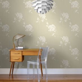 Mia Cream Wallpaper, , large