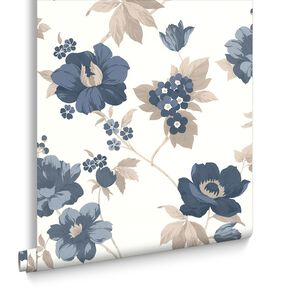 Eden Blue Wallpaper, , large