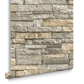 Ledgestone Grey und Terracotta, , large