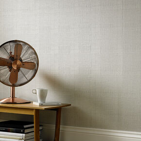 Tweed Soft Grey Wallpaper, , large