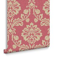Aurora Red and Gold Wallpaper, , large