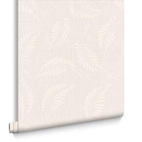 Fern White Wallpaper, , large