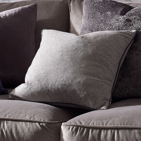 Shadow Grey Felt Cushion, , large
