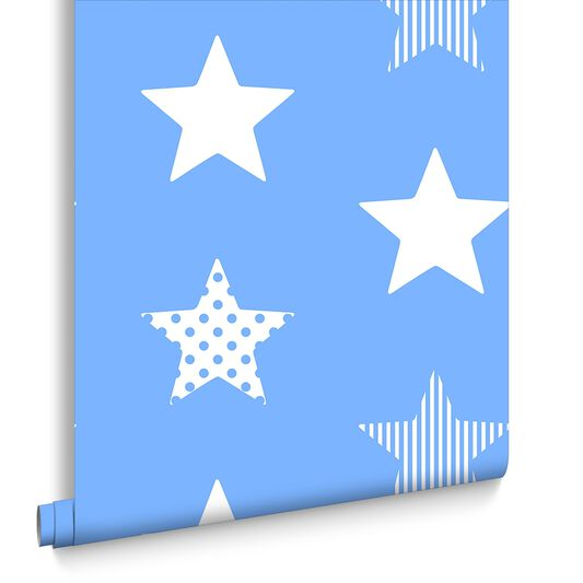 Superstar Blue Wallpaper, , large