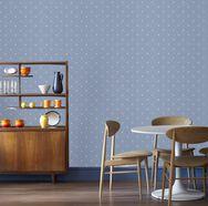 Dotty Pastels Blue Wallpaper, , large