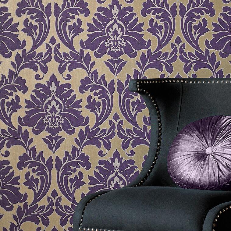 Majestic Purple Wallpaper, , Large ...