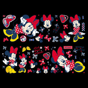Minnie Mouse Muursticker, , large