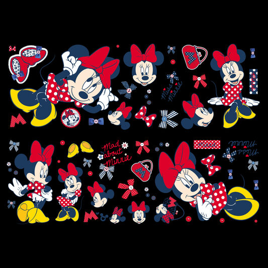 Minnie Mouse Wall Sticker, , large