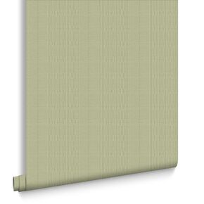 Tweed Spring Green Wallpaper, , large