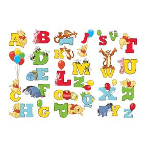 Winnie l'Ourson Alphabet - Stickers, , large