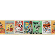 Mickey Mouse Vintage Border, , large
