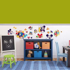 Mickey Wall Sticker, , large