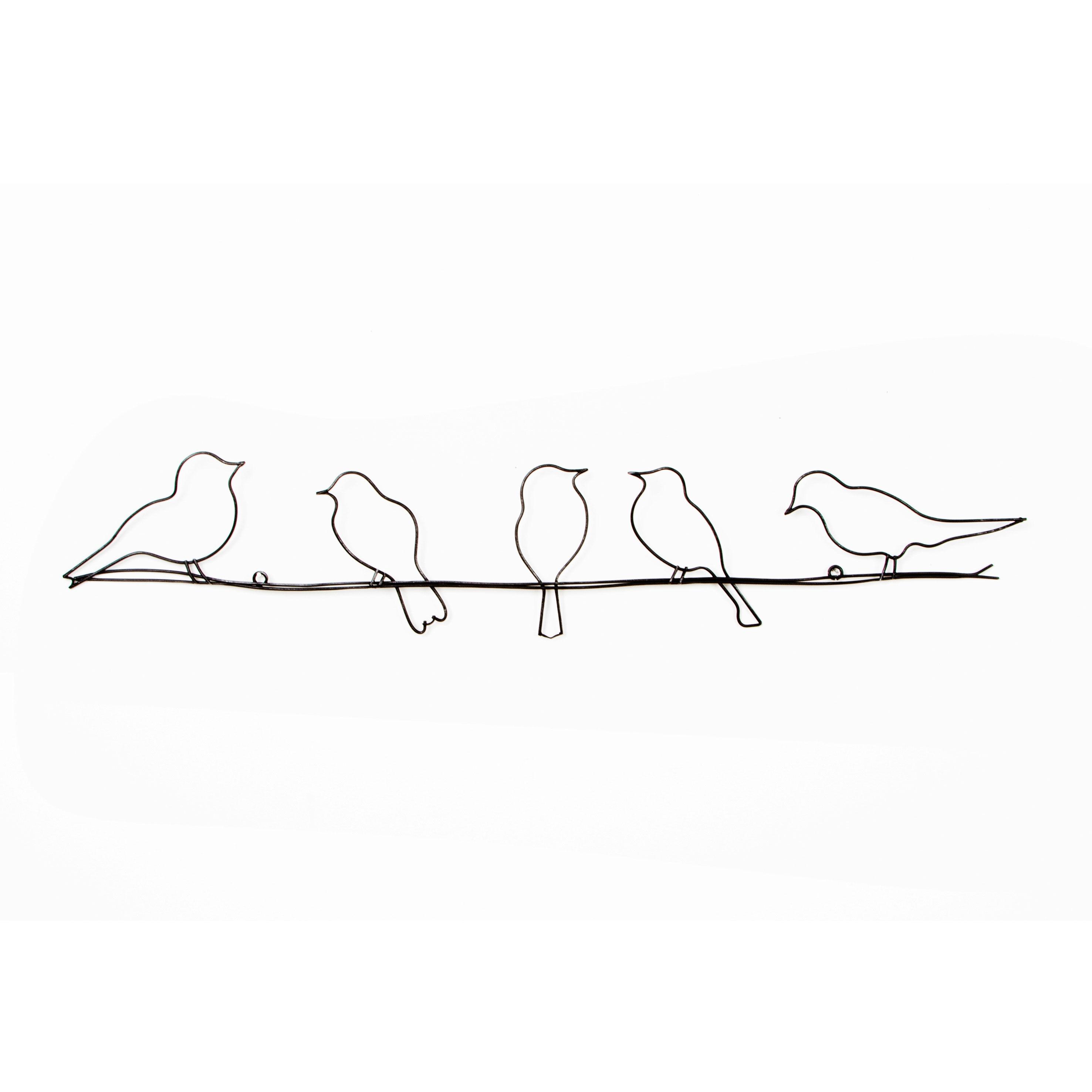 birds on a wire metal wall art grahambrownus: tree scene metal wall art
