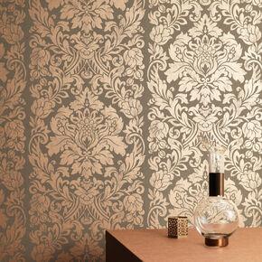 Gloriana Copper Wallpaper, , large