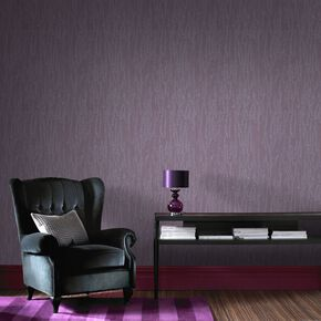 Large Crushed Silk Purple Wallpaper