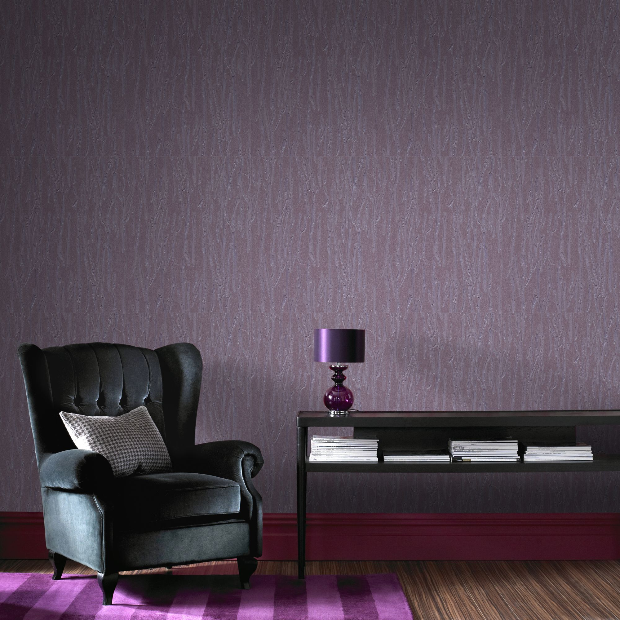 Awesome ... Large Crushed Silk Purple Wallpaper, ... Part 2