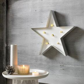 White Light Star  Metal Art, , large