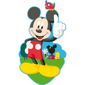 Stickers muraux en mousse Mickey, , large