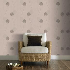 Alium Taupe Wallpaper, , large
