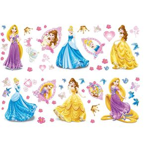 Sticker mural Princesses, , large