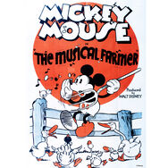 Mickey Musical Farmer Printed Canvas, , large