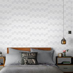 Oiti Silver Wallpaper, , large