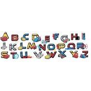Cars Alphabet Sticker, , large